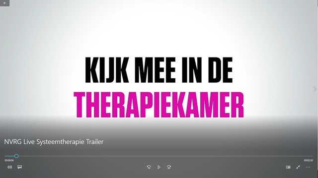 Foto trailer live therapie NVRG 2018